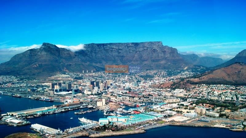 table mountain - city